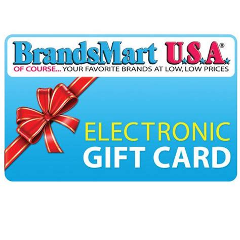 Brandsmart Gift Card - brandsmart usa gift card 100 electronic gift card 100 electronic gift card fast