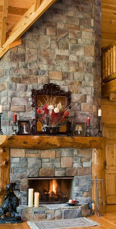 ideas  cabin fireplace  pinterest log cabin homes timber homes  rustic