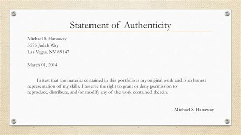 Dissertation Declaration Of Personal Contribution by Declaration Of Authenticity Dissertation