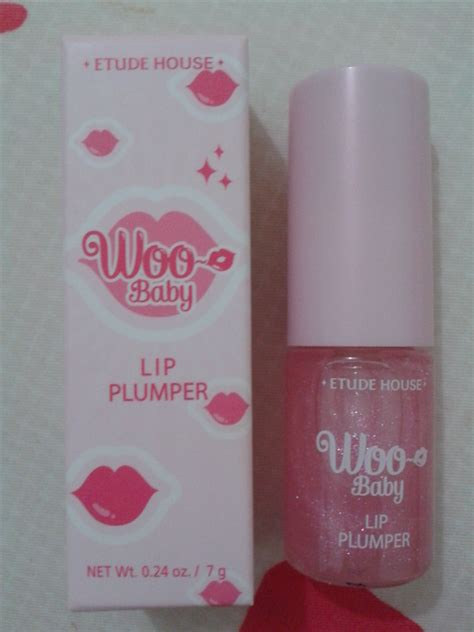 Etude House Woo Baby Lip Plumper Clear memebox superbox 64 makeup edition 2 review unboxing
