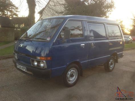 nissan vanette 1991 c220 nissan vanette 1 5 petrol van with 5 speed
