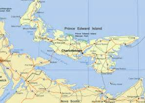 map of prince edward island canada wallpapers travel