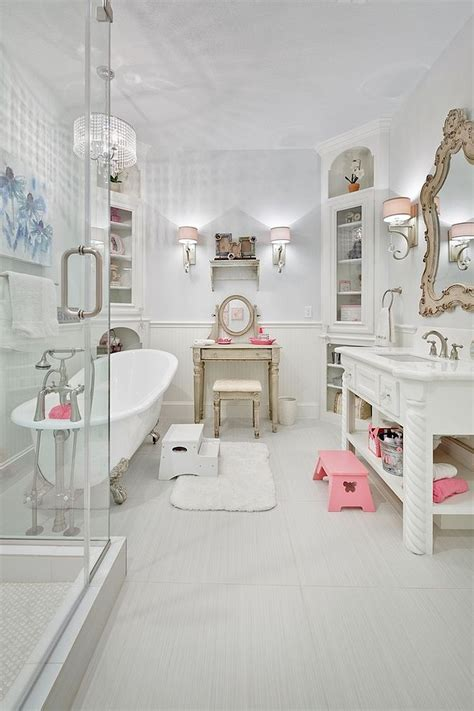 Light Blue Bathroom Ideas Revitalized Luxury 30 Soothing Shabby Chic Bathrooms
