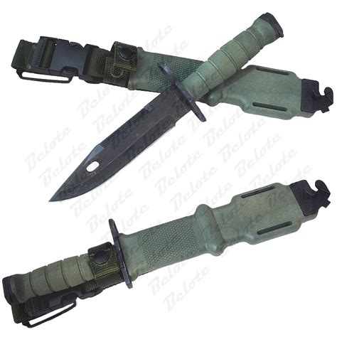 us army issue knife ontario knife m9 green bayonet m 9 with scabbard 6220
