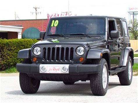 jeep wrangler running lights sell used jeep wrangler unlimited sahara charcoal gray