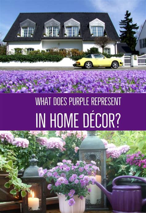 What Does Purple Represent in Home Decor?   Funk'N Color