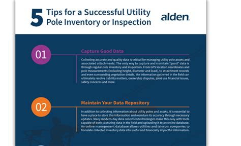 Tips For Creating An Inventory - tips for performing a successful pole inventory audit or