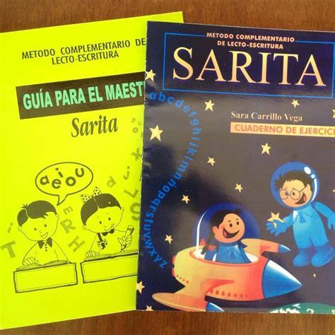 libros revistas y comics libros escolares primaria publicacion m 233 todo sarita para aprender a leer y escribir 400 00