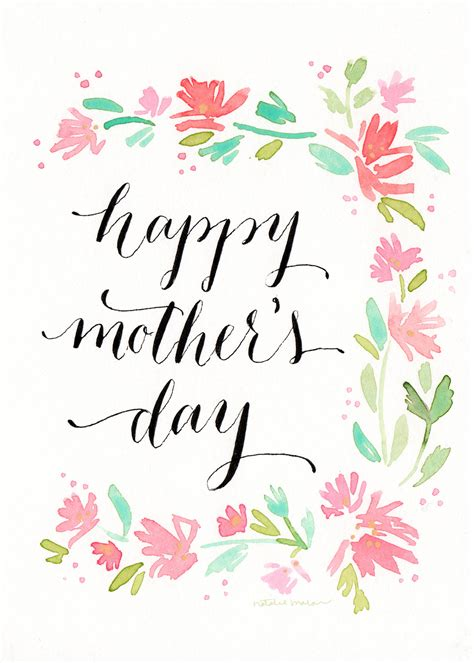 Mothers Day Christian Card Template by Page 3 Of 4 Natalie Malan