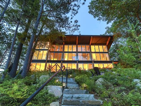 Luxury Cottage Rentals Ontario by Modern Muskoka Sunsets And Views Executive Vrbo