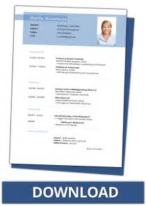 Lebenslauf Muster Gratis Vorlage Lebenslauf Vorlagen Kostenlos Downloaden Als Word Dateien