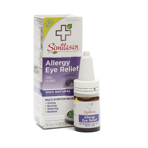 Liquid Crackers By Maple Drops Allergy Eye Relief Eye Drops By Similasan Corp Thrive Market
