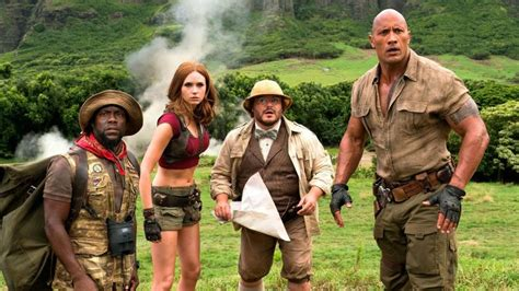 jumanji movie new hold up the new jumanji movie is actually good