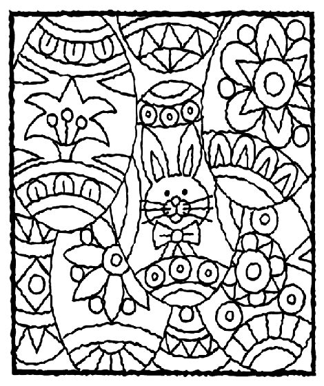 easter coloring pages for 10 year olds easter eggs coloring page crayola