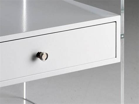 comodini in plexiglass comodino plexiglass acrilico trasparente cassetto bianco