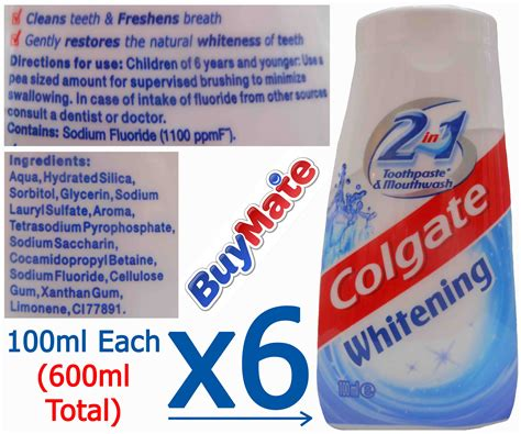 7 Great Toothpastes For A Whiter Smile by Colgate 2 In 1 Teeth Whitening Toothpaste Fresh Breath