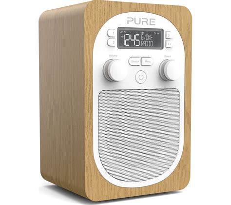 best portable dab evoke h2 portable dab fm clock radio review