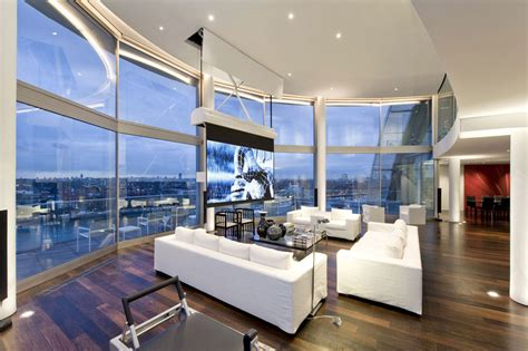 pent house design thames riverside luxury penthouse apartment idesignarch interior design