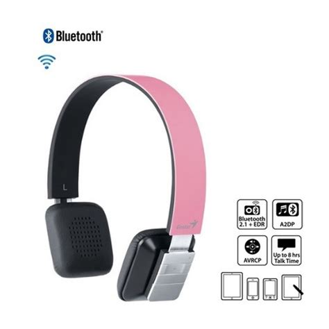 Headset Bluetooth Genius genius hs 920bt bluetooth headphone pink