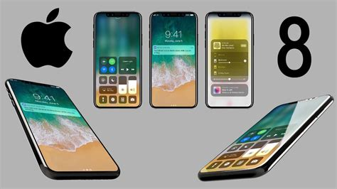 iphone 11 leak look of iphone 8 with ios 11 leaked in renders what s next