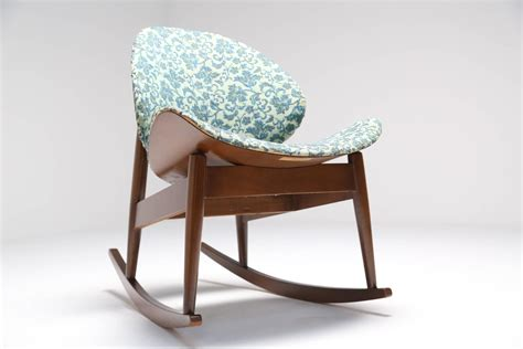Chintz Armchair by Kodawood Bentwood Rocking Chair With Chintz Upholstery At