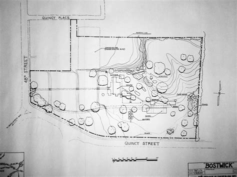 site plan drawings resources bostwick house