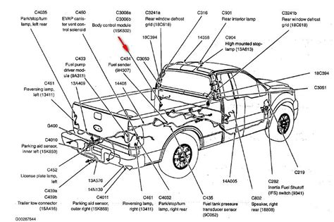 ford truck parts diagrams 1994 ford f150 front door parts diagram autos post