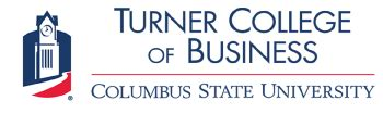 Columbus State Mba by D Abbott Turner College Of Business Mba Programs