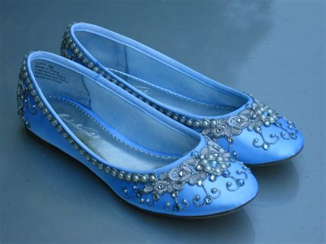 cinderella flat shoes cinderella s slipper bridal ballet flats wedding by