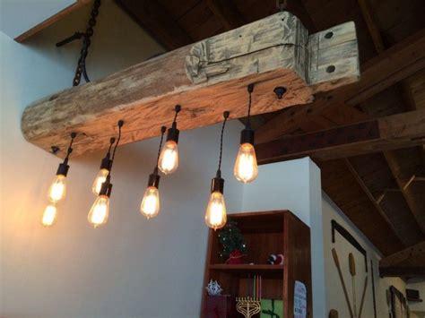 wood beam light fixture rustic wood light fixture with reclaimed beam beams