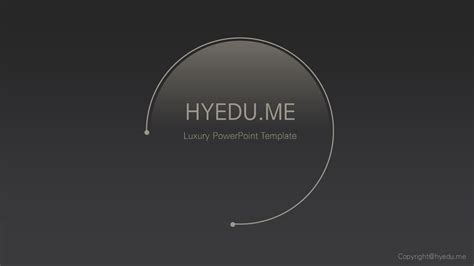 Moon Powerpoint Template Free Download 달빛 파워포인트 템플릿 Leehyekang 친절한 혜강씨 Hanzi Intel Ppt Template