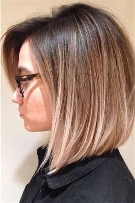 hairstyles 2018 summer ombre colored short hairstyles for summer 2018 2019 page