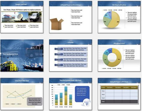 templates for logistics presentation powerpoint logistics modes template