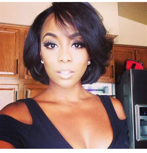 hairstyles for black women with short neck side part hairstyle trend