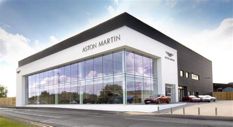 aston martin dealership aston martin opens dealership in nottingham in a first for