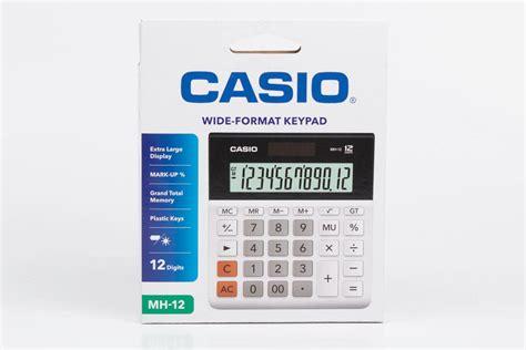 Calculator Mh 12 Kalkulator Casio Harga Grosir jual casio mh 12 jual casio desktop mh 12 di kalkulator grosir