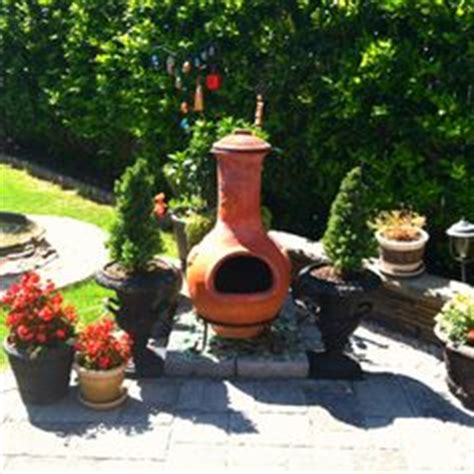 Chiminea Landscape Ideas by 1000 Images About Pits Chimineas On