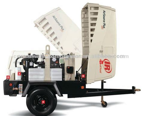 ingersoll rand doosan portable air compressor ir diesel portable air compressor hp375wir