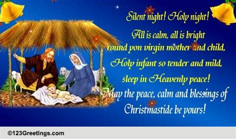 peace calm  blessings  christmas  merry christmas wishes ecards