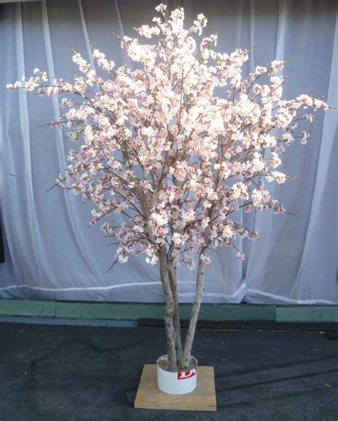 silk cherry blossom tree make be leaves