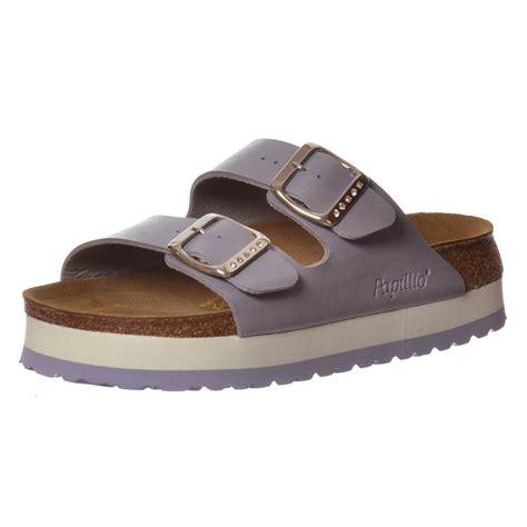 birkenstock wedge sandals birkenstock papillio arizona wedge platform standard