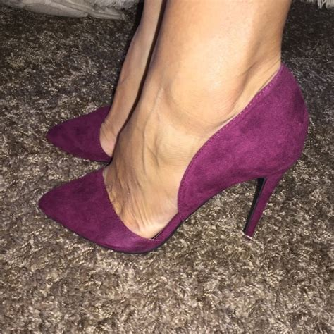 wine colored heels 45 russe shoes brand new wine colored