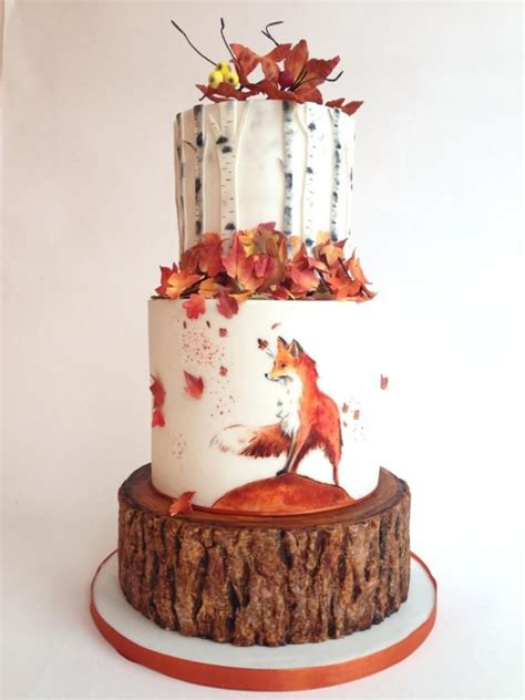 Wedding Cake Autumn by Autumn By Tomima Cakes Cake Decorating Daily