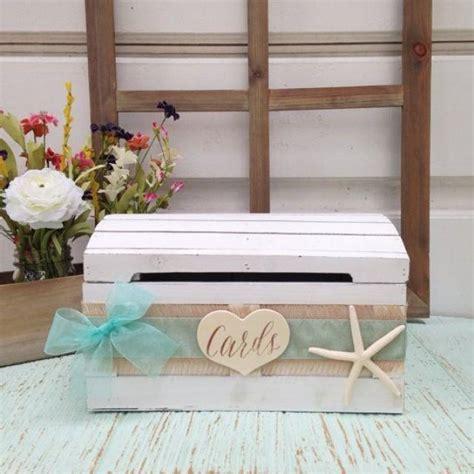 Wedding Advice Box by Rustic Wedding Card Box Seaside Decor Wedding Advice Box