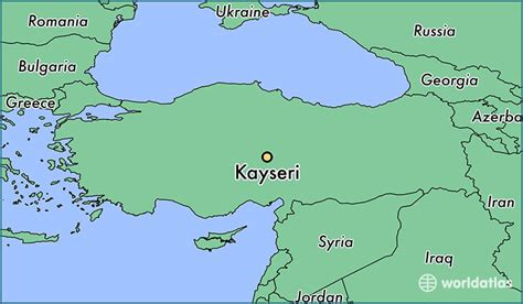 kayseri map where is kayseri turkey where is kayseri turkey