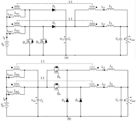 coupled inductor interleaved boost boost converter with coupled inductors and buck boost type of active cl 28 images integrated