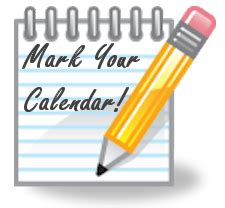Put It On Your Calendars by Put This On Your Calendar Clipart Www Pixshark