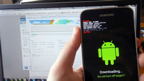 update my android how to install samsung firmware update using odin