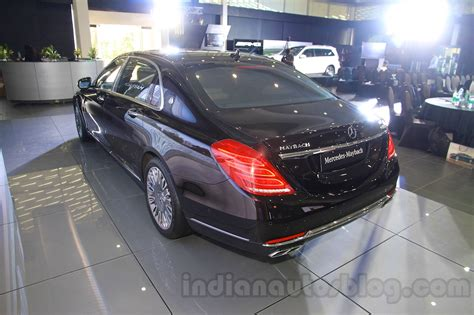 mercedes maybach s600 rear quarters india launch indian