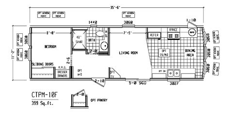 1 bedroom mobile home floor plans 1 bedroom mobile home floor plans house design ideas